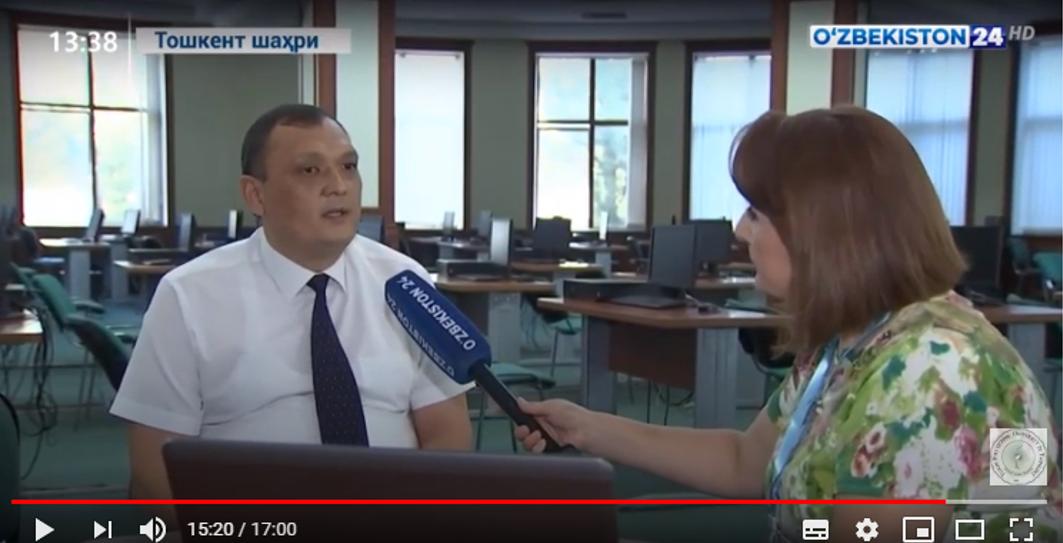 Uzbekistan24TV: Preparation for the new 2020-2021 academic year at Turin Polytechnic University in Tashkent