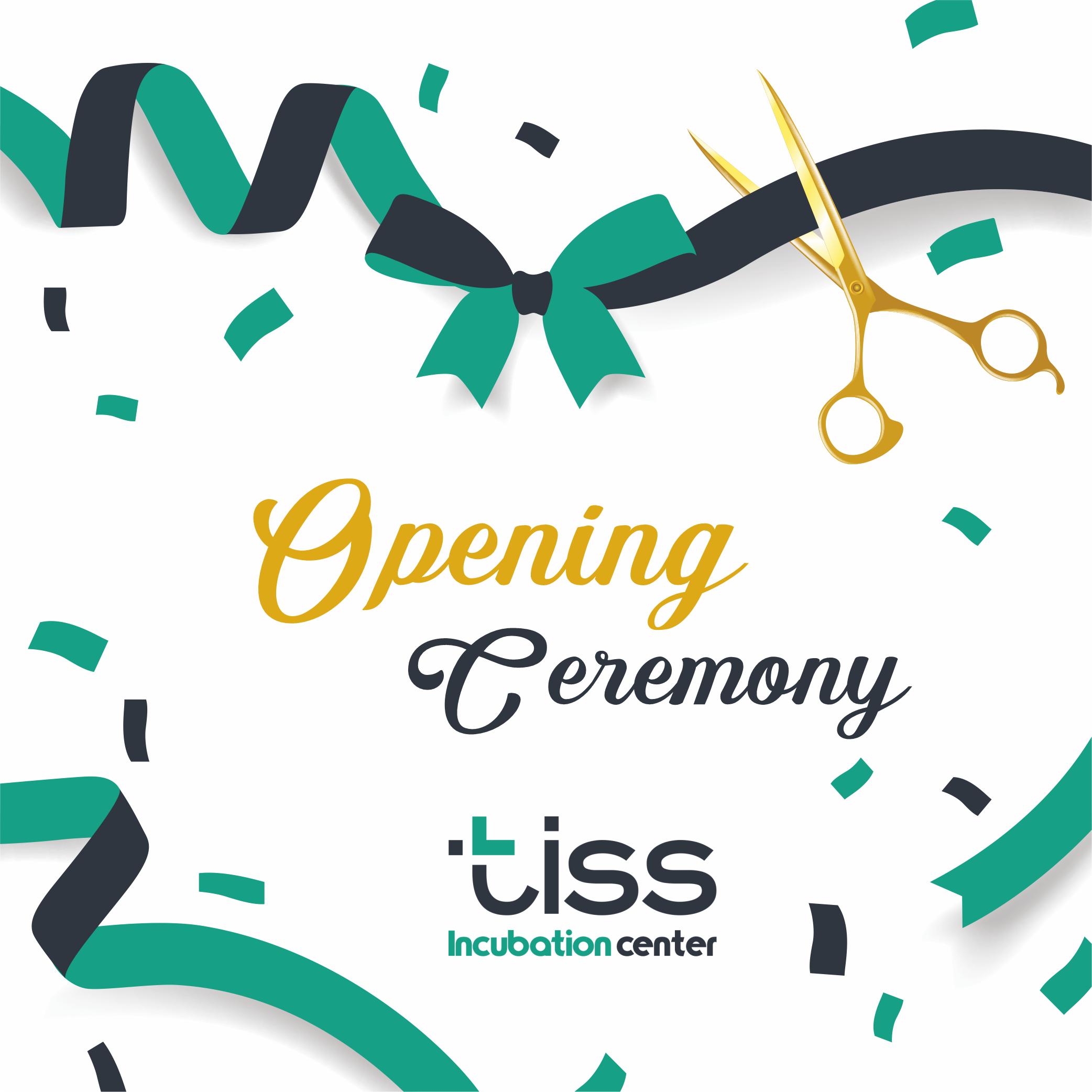 Церемония открытия инкубационного центра TISS