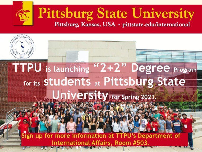 New program of Pittsgurg State University (USA) and Turin Polytechnic University in Tashkent