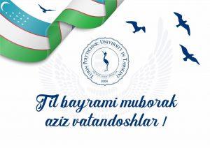 Congratulations on the Day of Uzbek language!