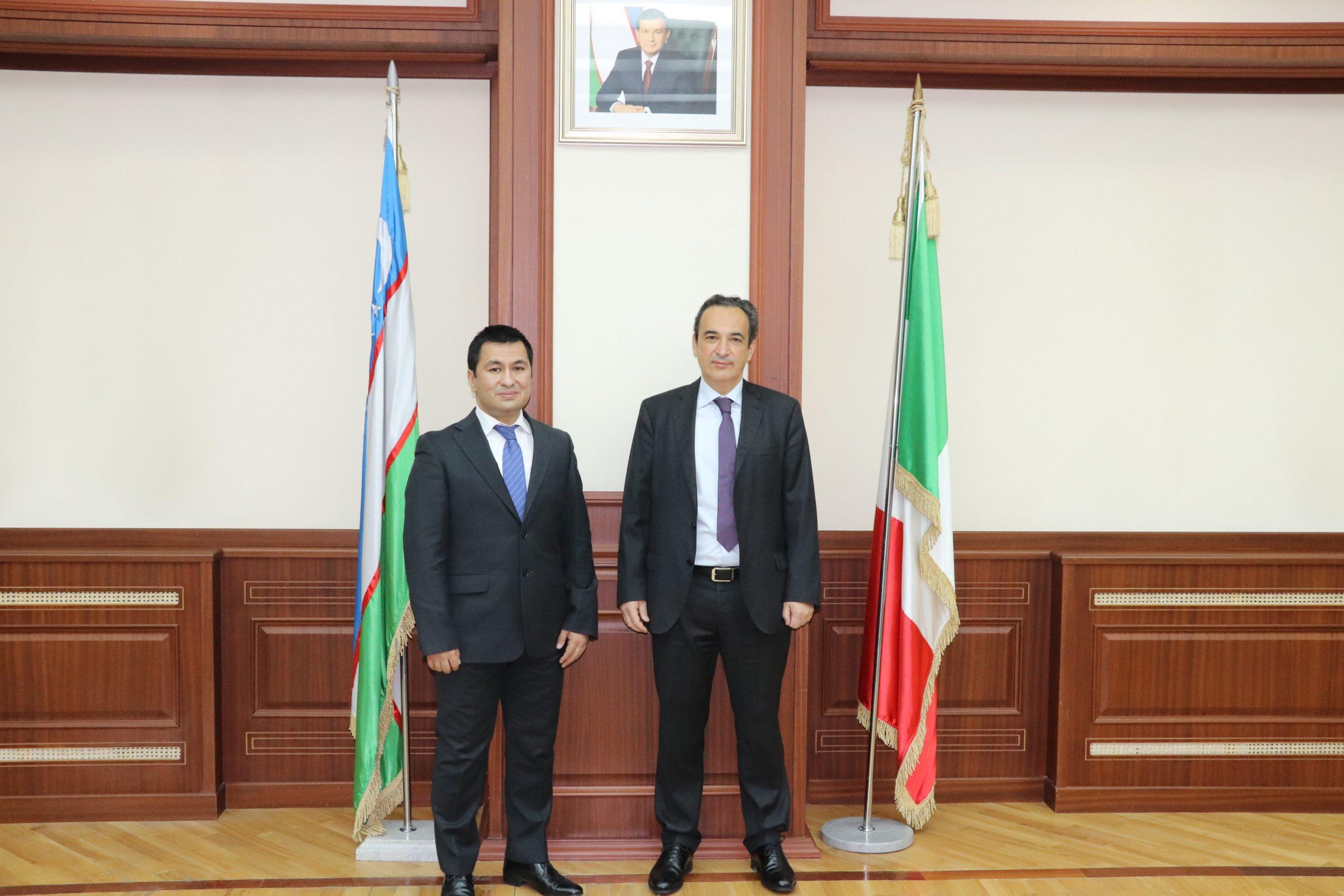 Посол Италии посетил Туринский Политехнический Университет в г.Ташкенте.
