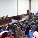 В ТТПУ прошел «Ректорский час» для учащихся академического лицея.