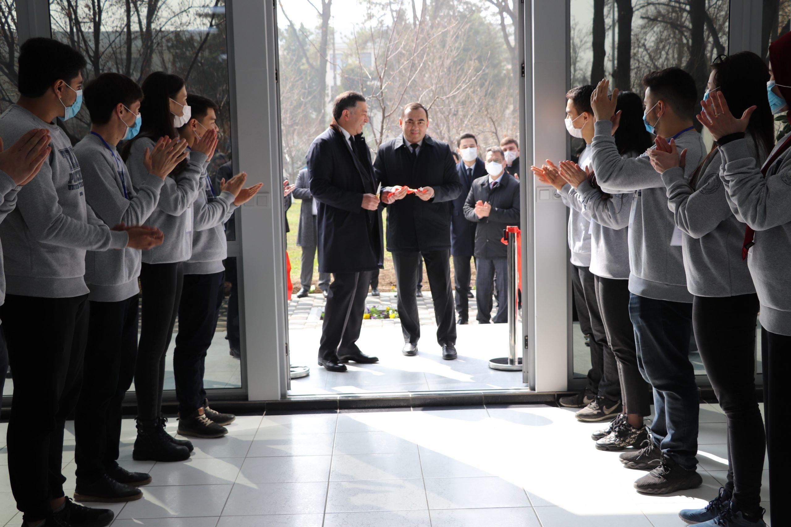 Toshkent shahridagi Turin Politexnika Universitetida yangi o'quv binosi ochildi