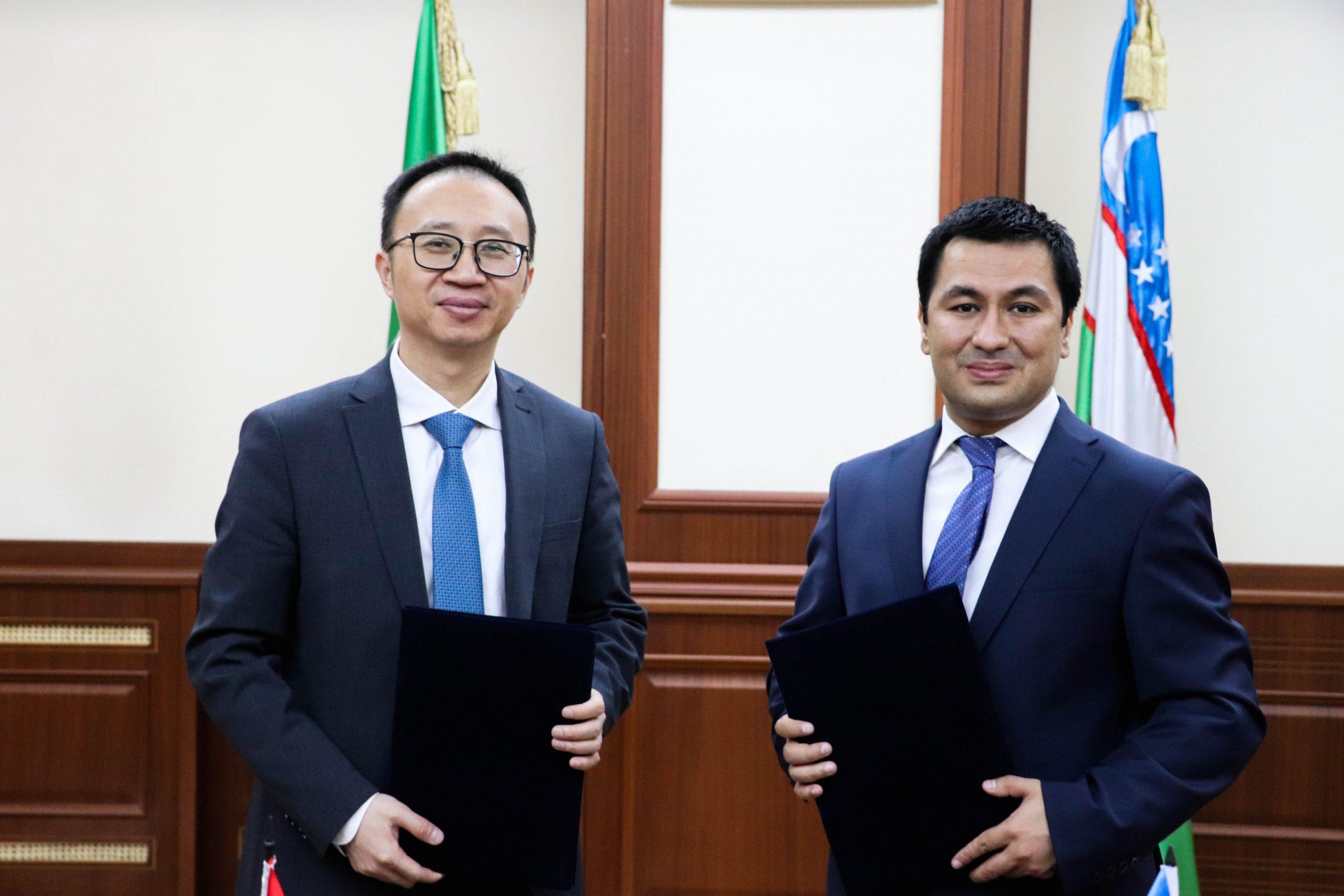 """Toshkent shahridagi Turin Politexnika Universiteti va """"Huawei Tech Investment Tashkent"""" MChJ o'rtasida o'zaro anglashuv memorandumi imzolandi."""