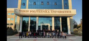 Maktablar va o'quv markazlari o'quvchilari Toshkent shahridagi Turin Politexnika Universitetiga tashrif buyurishdi.