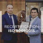Toshkent shahridagi Turin Politexnika Universiteti o'z Sifat Boshqaruv Tizimi sertifikatini yangiladi