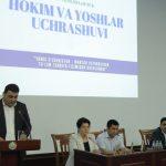 """Toshkent shahridagi Turin Ploitexnika universitetining bugunki mehmonlari """"Hokim olimpiadasi"""" g'oliblaridir."""