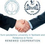 Туринский политехнический университет в г. Ташкенте и Туринский политехнический университет возобновили сотрудничество