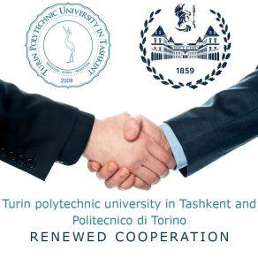 Turin polytechnic university in Tashkent and Politecnico di Torino renewed cooperation