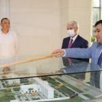 The visit of Deputy Minister of Ministry of Economy of the Republic of Azerbaijan to Turin Polytechnic University in Tashkent